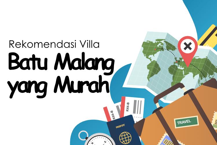 Villa Batu Malang yang Murah