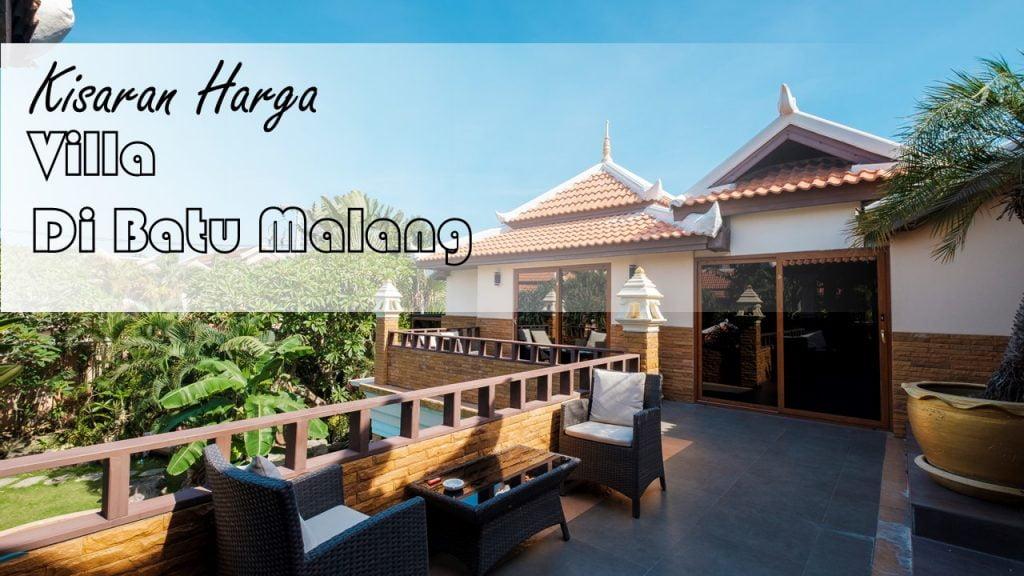 Kisaran Harga Villa di Batu Malang, Cari Tahu Disini 3
