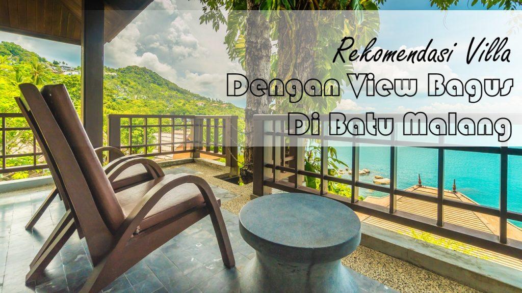 Villa Batu Malang dengan View Bagus