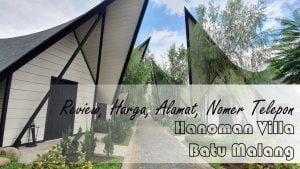 Hanoman Villa Batu Malang