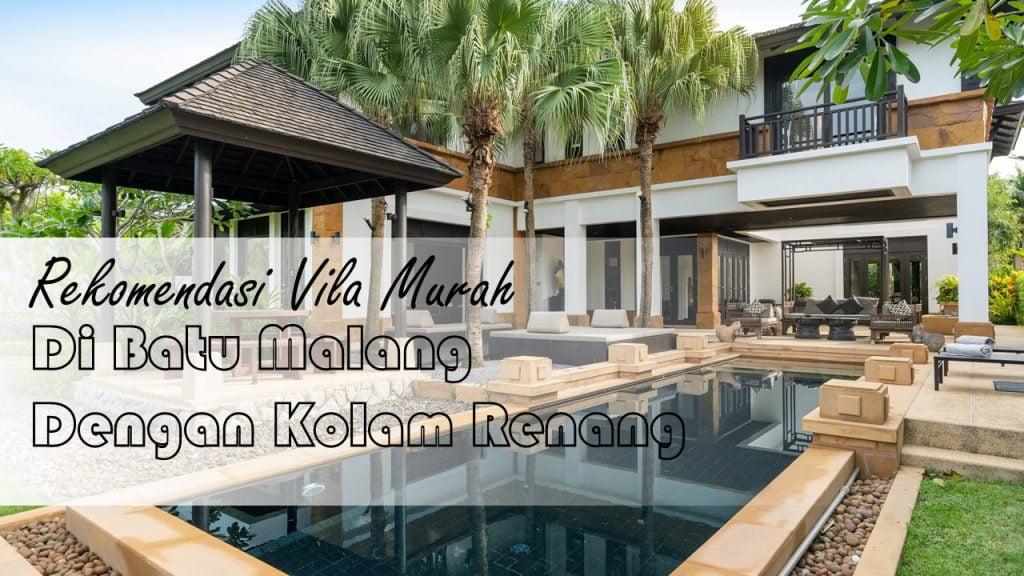 Villa di Batu Malang dengan Kolam Renang Murah