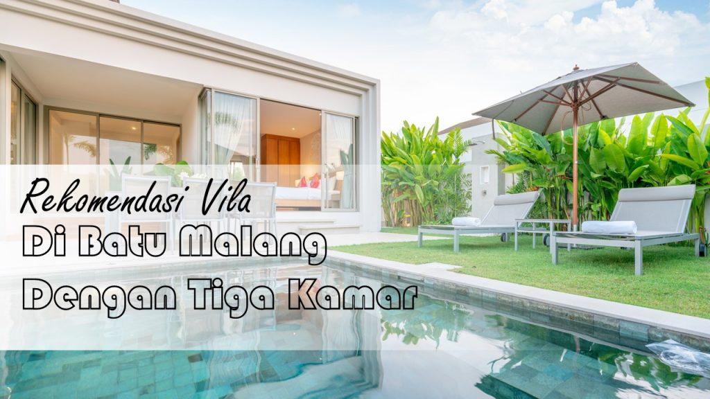Rekomendasi Villa di Batu Malang dengan 3 Kamar 3