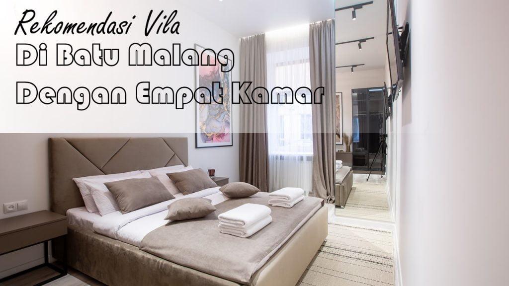 Rekomendasi Villa di Batu Malang dengan 4 Kamar 3